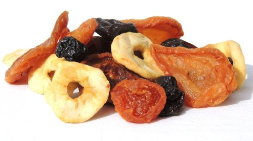 Deluxe Fruit Tray Dried (Mixed Dried Fruit by Its Delish, 10 lbs)
