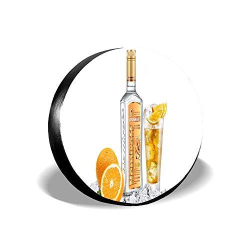 VinDTcc Orange Flavored Vodka Spare Tire Cover Protector Universal 14