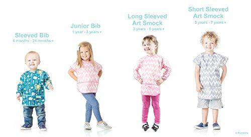 Bumkins Art Smock, Waterproof Long-Sleeved Smock, Arrow (3-5 Years) by Bumkins (Image #7)