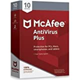 McAfee AntiVirus Plus for 10 devices