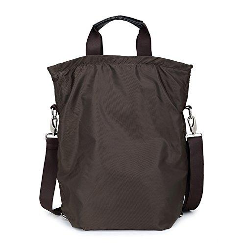 Nylon impermeable paquete de tres/Mochila/Bolsas colgados/bolso de bandolera/bolso de hombro inclinado-B B