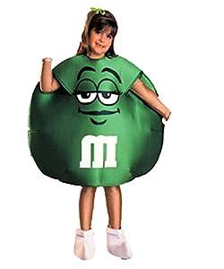 Mu0026Mu0027s Green Small (4 -6) Child Size Costume by Rubieu0027s  sc 1 st  Amazon.com & Amazon.com: Mu0026Mu0027s Green Small (4 -6) Child Size Costume by Rubieu0027s ...
