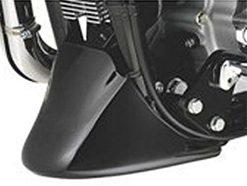 CHIMAKA Menton aileron avant noir pour moto Harley Davidson XL Sportster 883 1200 Pi/èces neuves