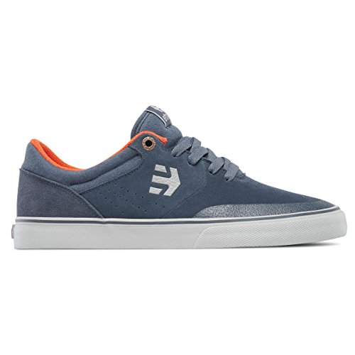 Etnies Marana Grey Vulc Skate Shoe Orange CrIwr