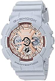 G-SHOCK S Series Grey and Rose Gold Watch GMAS120MF-8A