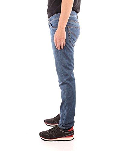 Jeans Blaine Blu Denim W01360 Harmont Narrow Uomo amp; Z48 26881 Fit 059350 804 waqx1t