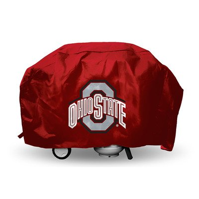 Grill Ohio Buckeyes State Cover - NCAA Ohio State Buckeyes Deluxe Grill Cover, Large, Red
