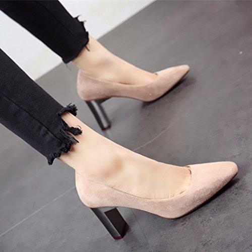 trabajo y de superficial de moda zapatos solo tacón zapata La de La zapata la b47a2b