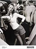 Kate Moss Plaid Shorts Pose Celebrity Super Model Icon Photography Poster Print 23 by 31