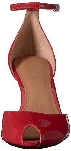 Calvin Klein Women's Saiden Dress Sandal Lipstick Red zv68SviZj8