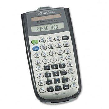 Texas Instruments TI36XSOLAR - TI-36X Solar Scientific Calculator, 10-Digit LCD
