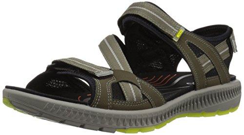 ECCO Men's Terra 3S Athletic Sandal, Tarmac, 46 EU/12-12.5 M US ()