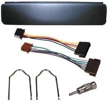 Ford Escort Fiesta Transit Black Car Radio Stereo Fascia Panel /& Removal Key