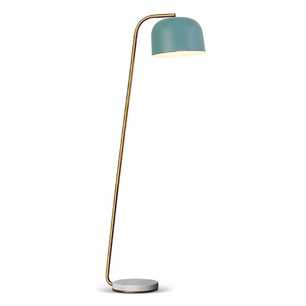 PANGU-ZC 扇形のガラスカバーの据え付け品の素朴な床ランプの産業様式の床ランプ - 優雅な設計 -フロアスタンドランプ (色 : C) B07Q7RC3R4 C