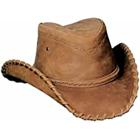 2951cf4b47d0f Bullhide Hats Sydney Leather Shapeable Brim Western Cowboy Hat 0452T