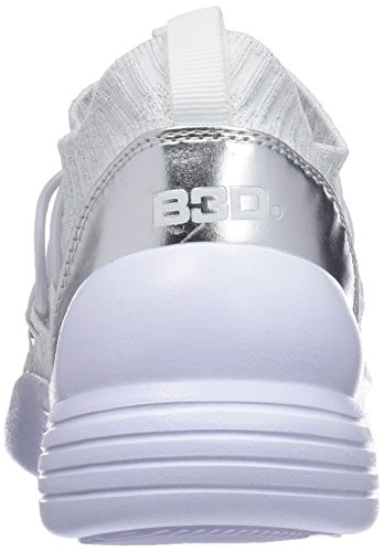 Sports Women bass3d Elastico 41489 Blanco Shoes S5Kq4g