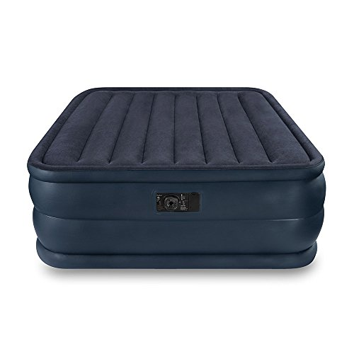 Intex Raised Downy Airbed with Built-in Electric Pump, Queen, Bed Height 22'' by Intex