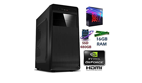 PC Ordenador SOBREMESA Gaming Intel Core I7 up to 3,8Ghz | 16GB ...