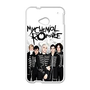HTC One M7 Cell Phone Case White My Chemical Romance D2279303