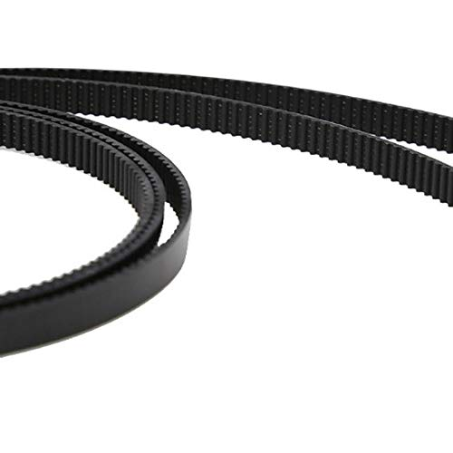 Zamtac 10pcs 1M GT2 Open Timing Belt Width 6mm Rubber Loop Belts for 3D Printer SD998 - (Color: Green) by GIMAX (Image #5)