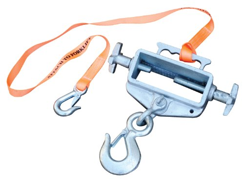 Vestil S-FORK-4/6-RL Single Fork Rigid Hoisting Hook and Latch