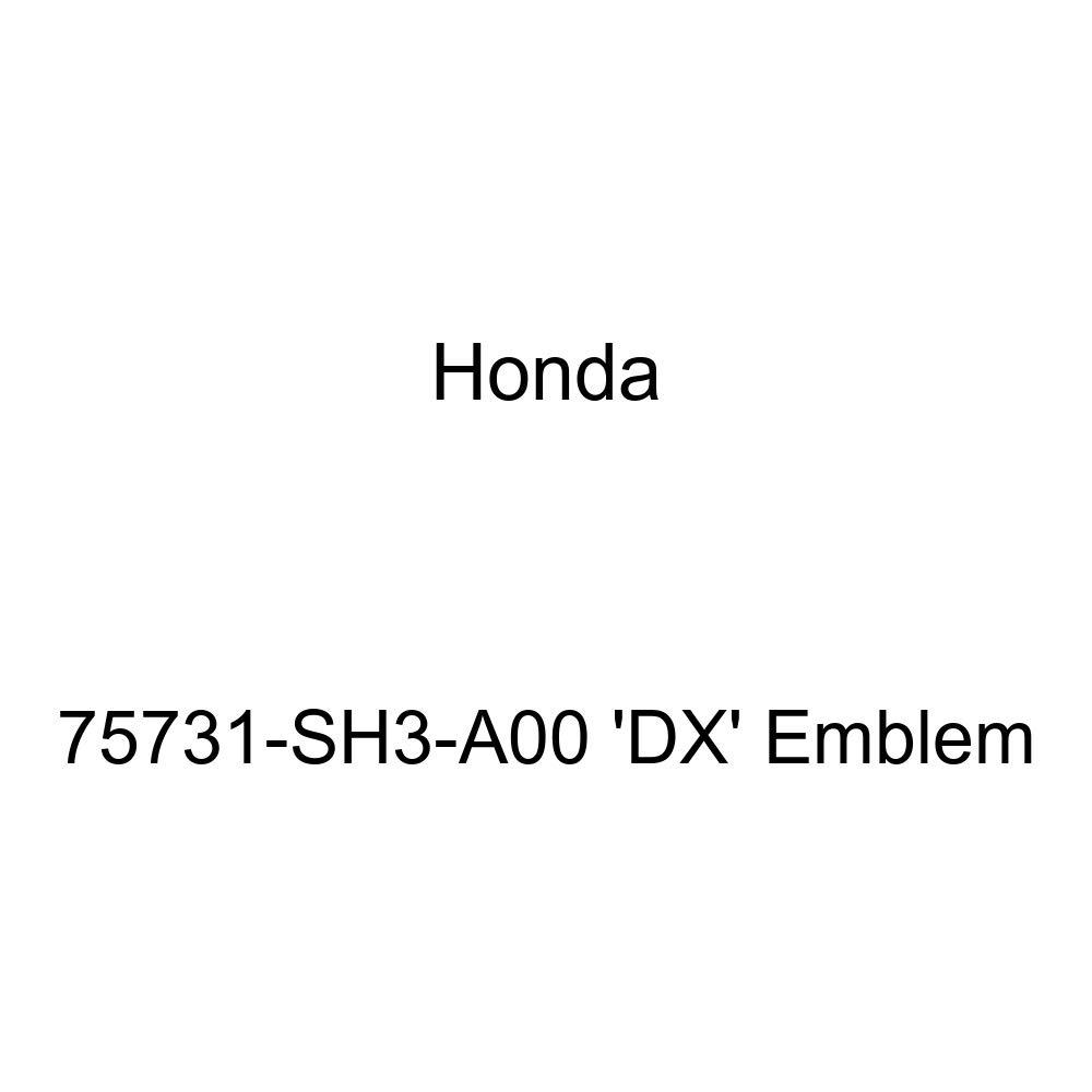Genuine Honda 75731-SH3-A00 DX Emblem