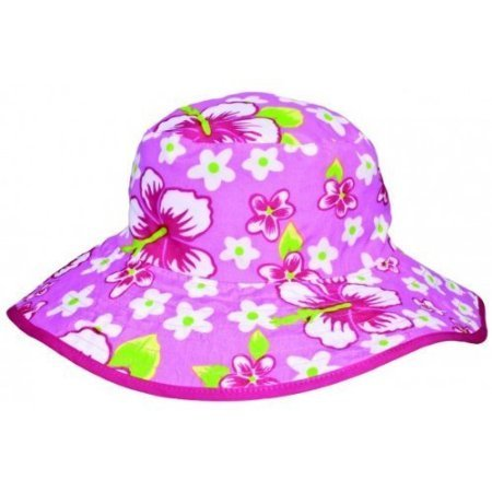 Banz Reversible UV Bucket Sun Hat - Pink Floral 0-2y by BABY - Usa Banz Baby
