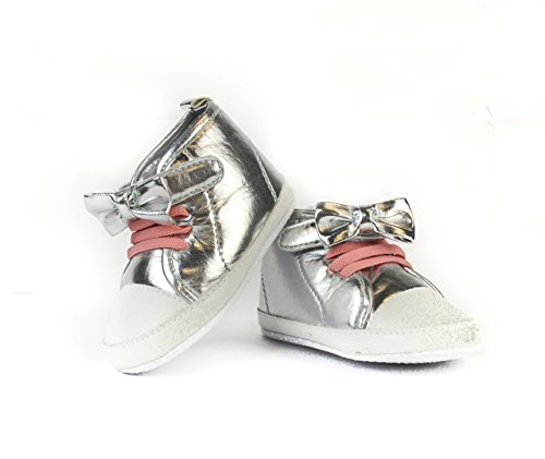 frills-silver-bow-baby-sneakers-for-newborns-and-toddlers-premium-soft-cotton-sole-prewalker-toddler
