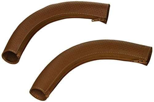 - UPPAbaby CRUZ Leather Handlebar Cover - Saddle