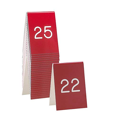 Cal-Mil 271-1 Replacement Engraved Number Tents - 3.5