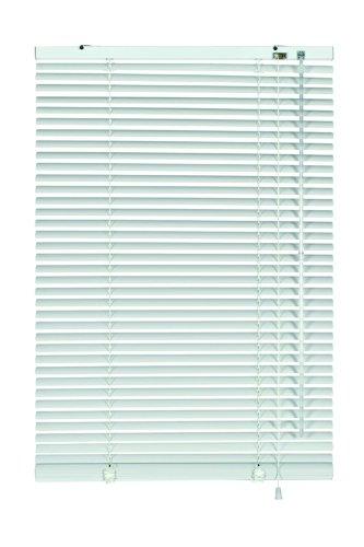 Gut Alu-Jalousie - Farbe: weiss - 90 x 130 cm (Breite x Höhe  YV97