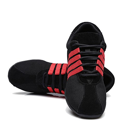 Jazz Performance Red Women's Sneaker Boost Shoes Sports Dance and Men C A T01 YKXLM Sneakers Ballroom Modern Dance Model 1qFzT0w