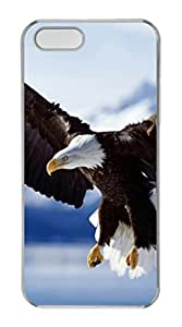 iPhone 5S PC Hard Clear iPhone Case New Version Case Suit iPhone5 Super Beautiful And Ultra thin case Easy To OperateAnimal Nature Fly