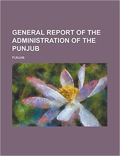 Gratis ebooks descargables para computadoraGeneral report of the administration of the Punjub (Spanish Edition) DJVU
