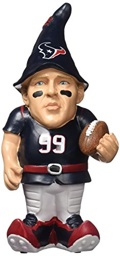 FOCO Houston Texans Watt J. #99 Resin Player Gnome by FOCO