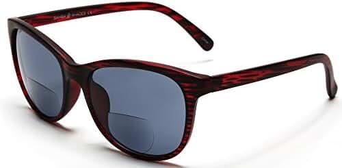 Samba Shades Bi-Focal Sun Readers Fashion Wayfarer Sunglasses