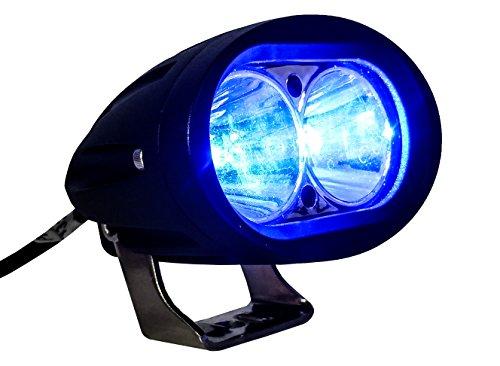 Led Fork Lift Lights : Blue forklift led light warehouse safety warning lamp spot