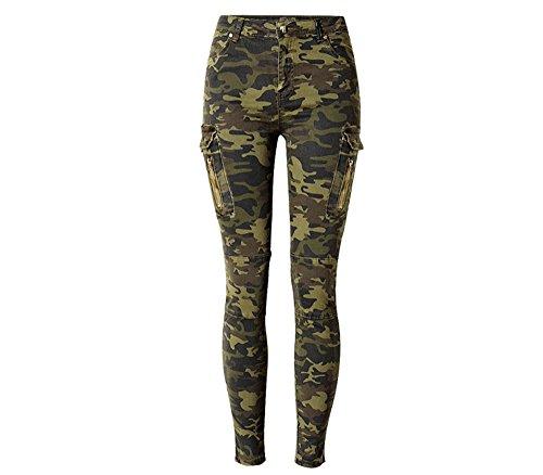 Camo Cargo Jeans - 1