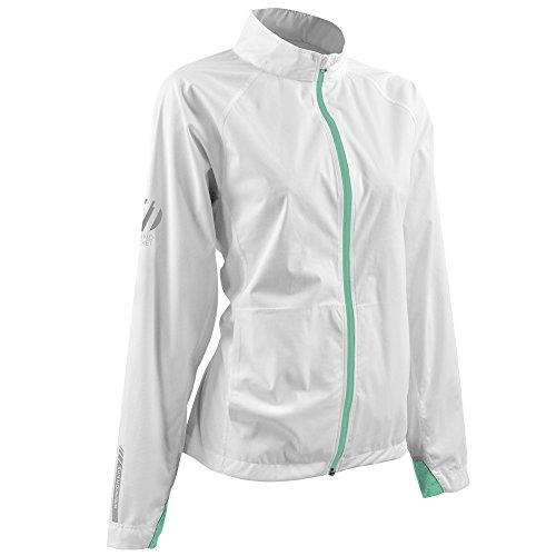 Sun Mountain J1 Golf Jacket 2016 Ladies White/Ice/Green Large ()