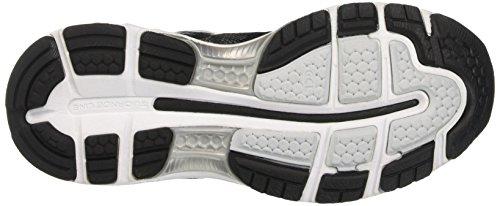 Asics Gel-Nimbus 19, Chaussures de Running Compétition Femme, Noir (Black/Onyx/Silver), 42.5 EU