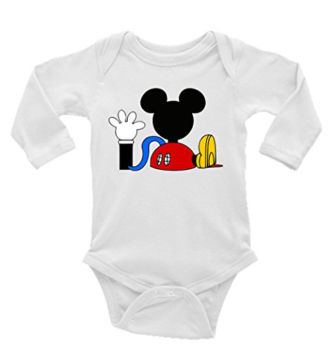 (Mickey Mouse Clubhouse Long Sleeve Unisex Onesie (6-9))