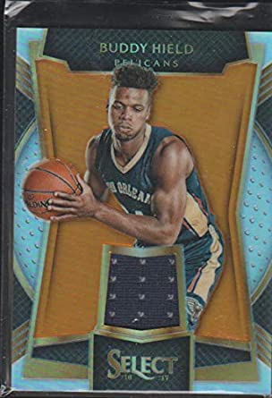 the latest 46a4f 80902 Amazon.com: 2016-17 Select Buddy Hield Pelicans 40/60 Jersey ...