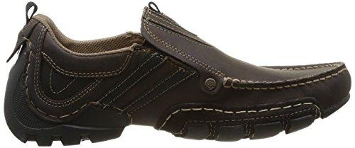 Dockers by Gerli 20AY005 - mocasines de cuero hombre marrón - Braun (schoko/schwarz 361)