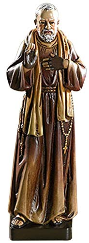 Woodington's Avalon Gallery Saint Padre Pio 8 Inch Statue