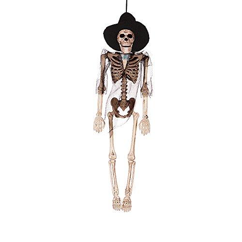 Baidercor Halloween Decoration Gifts Hanging Bridegroom Skeleton -
