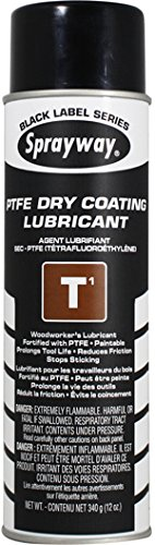 Sprayway SW295 T1 TFE Dry Coating Lubricant and Release Agent, 12 - Lubricants Mold Release