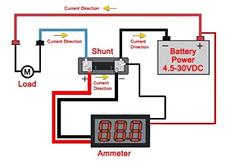 Wiring Adc Ammeter - Preview Wiring Diagram on