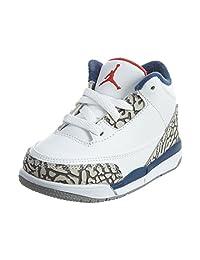 "Air Jordan 3 ""True Blue"" 832033-106 White/Cement Grey-True Blue"