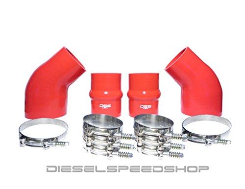 1994-2002 Dodge Cummins BRIGHT RED Intercooler Boot ()