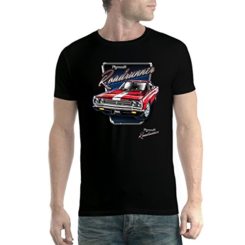 Roadrunner Car - AvocadoWear Plymouth Roadrunner Classic Car Men T-Shirt Black 3XL